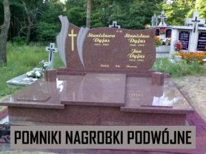 pomniki nagrobki podwójne
